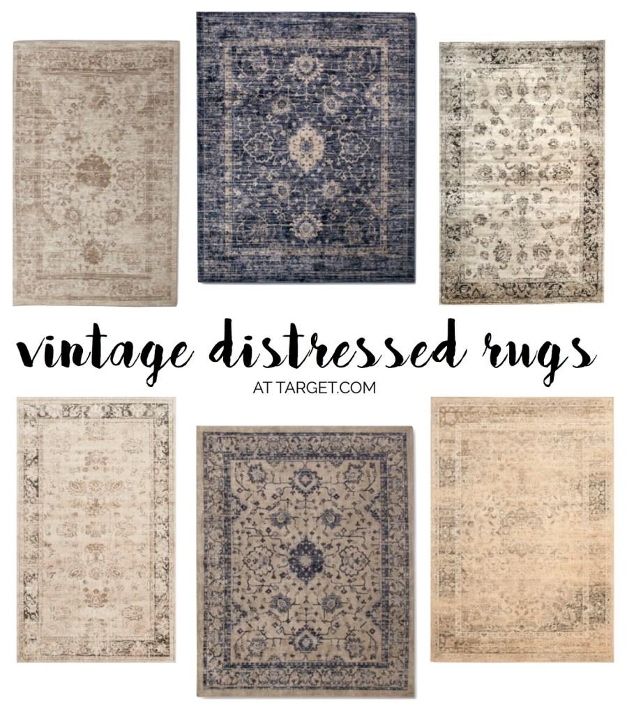 Vintage Rugs at Target!