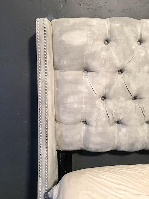 One Room Challenge - DIY Painted Headboard & Dresser | designedsimple.com