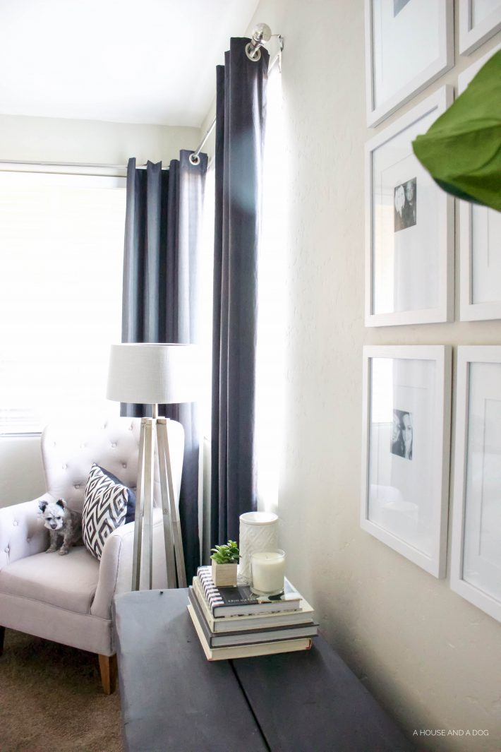 How to Save Money on Building a Home - DIY Window Treatments | designedsimple.com