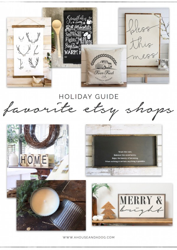 Holiday Guide – Favorite Etsy Shops