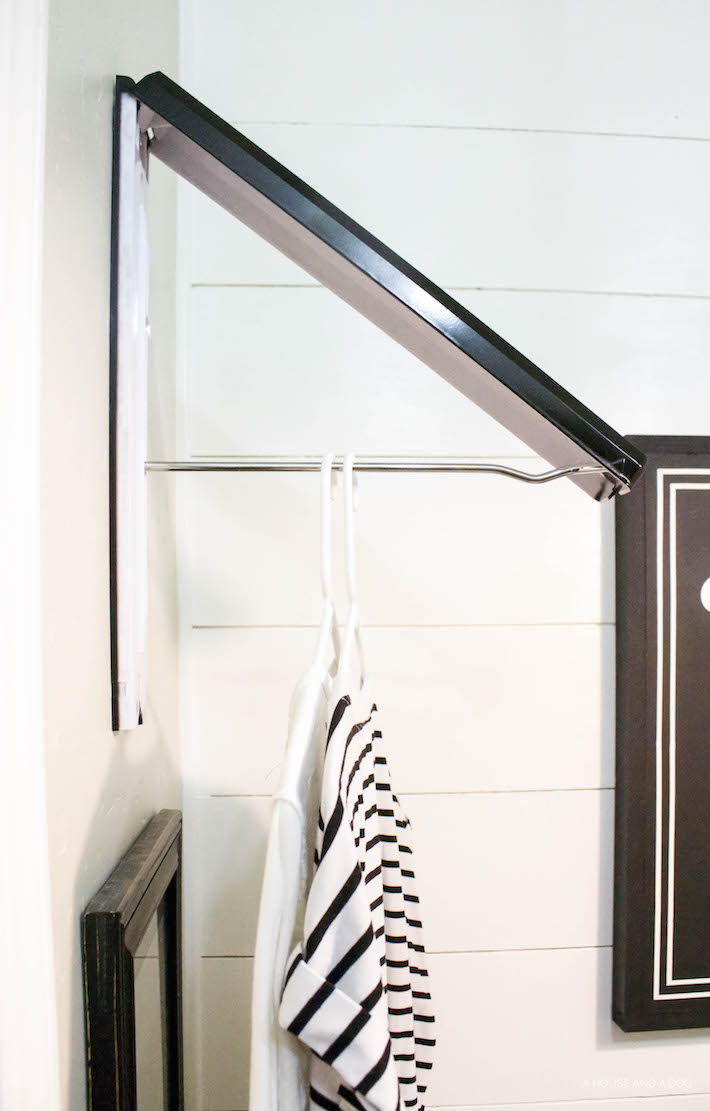 Easy Clothes Hanger & Update One Year Later | designedsimple.com