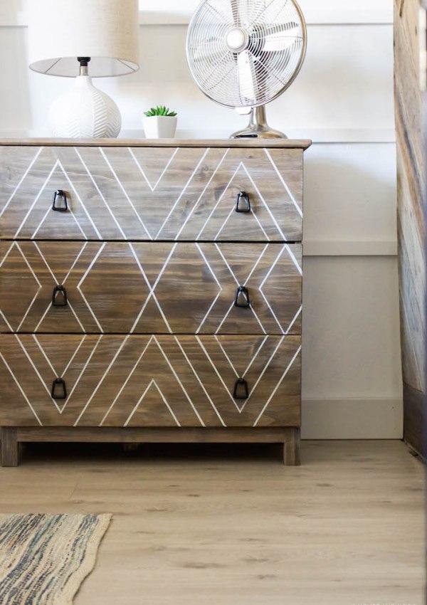 DIY Ikea Tarva Hack Pt 2