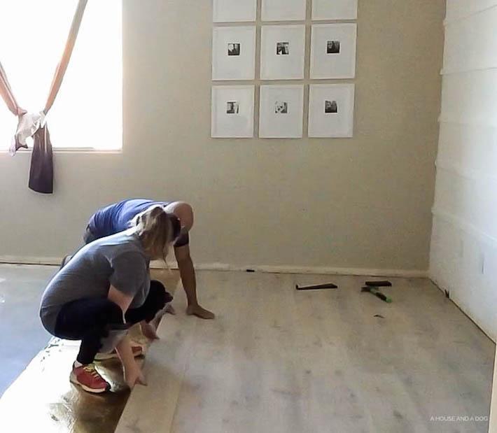 Pergo Installation | designedsimple.com