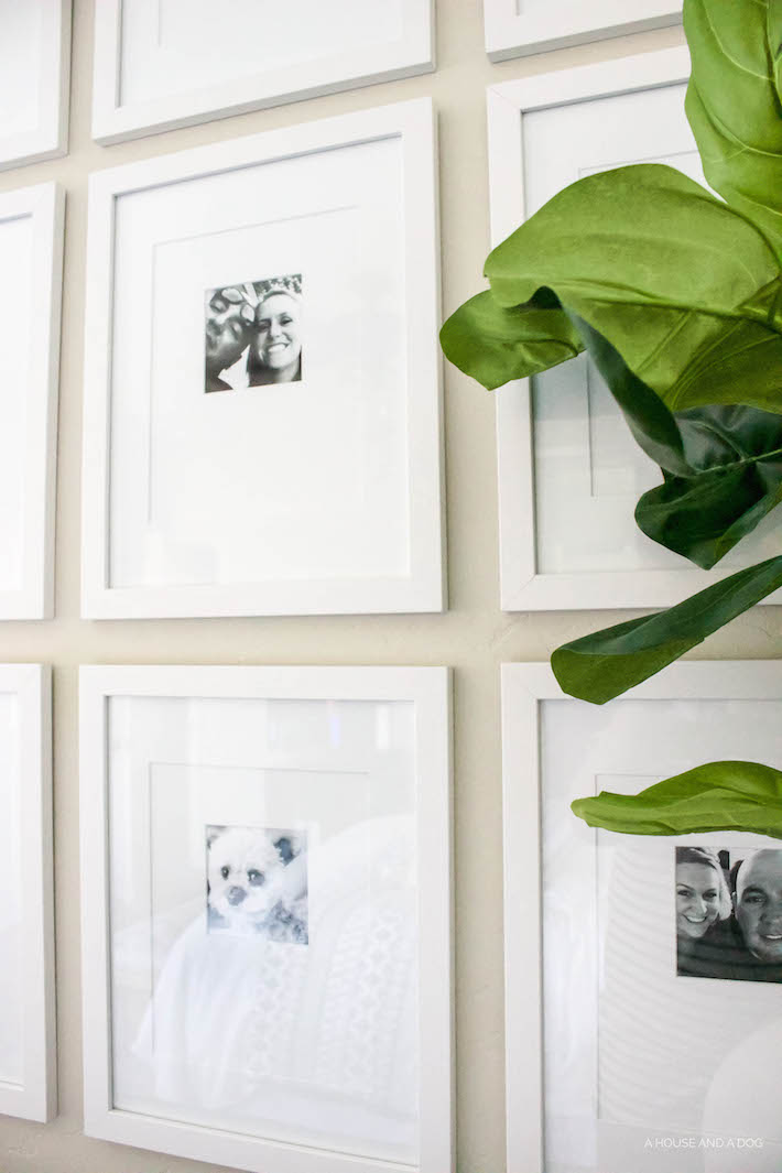 Simple & Easy Photo Wall Using Phone Photos | designedsimple.com
