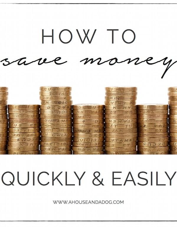 Save Money – No Spending Spree