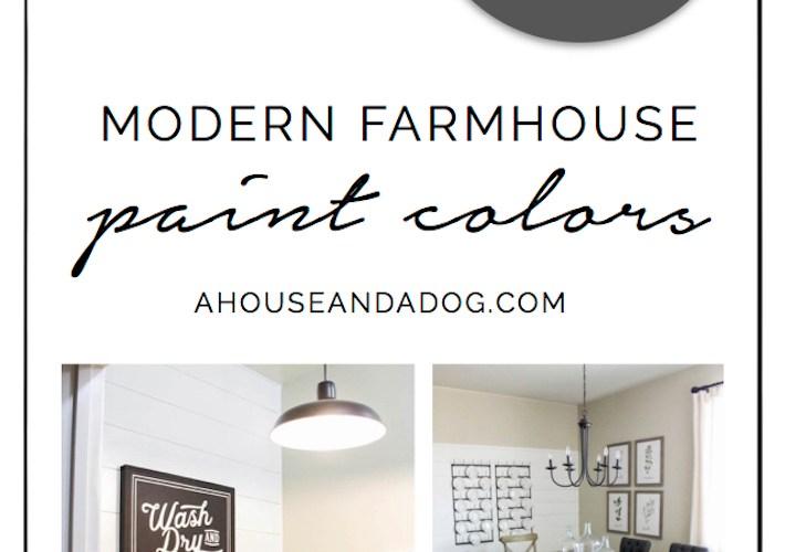Whole House Color Scheme - Modern Farmhouse Paint Colors | designedsimple.com