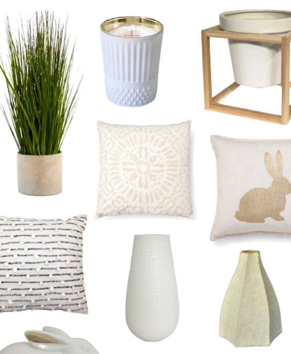 Spring + Easter Decor