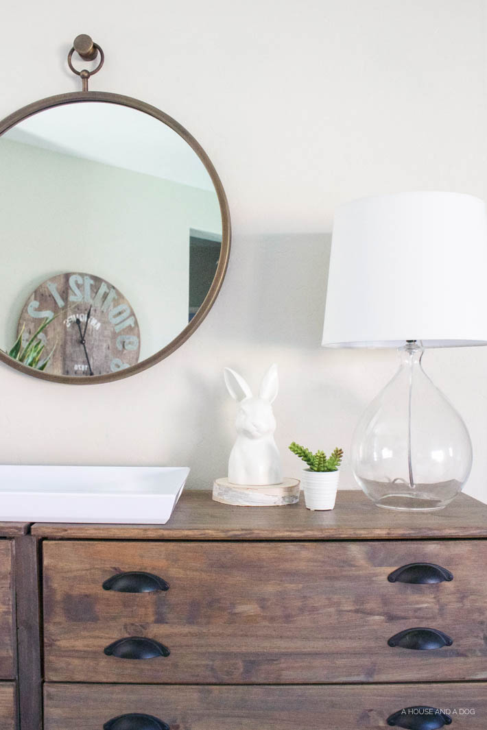 Spring Home Tour | 5 Ways to Decorate for Spring without Shopping | designedsimple.com