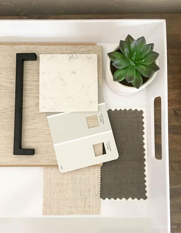 Creating a whole house design + mood board | designedsimple.com