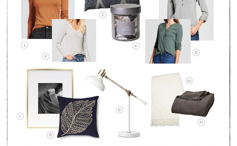 Fall Favorites | Home Decor & Fashion from Target | helloalllisonblog.com