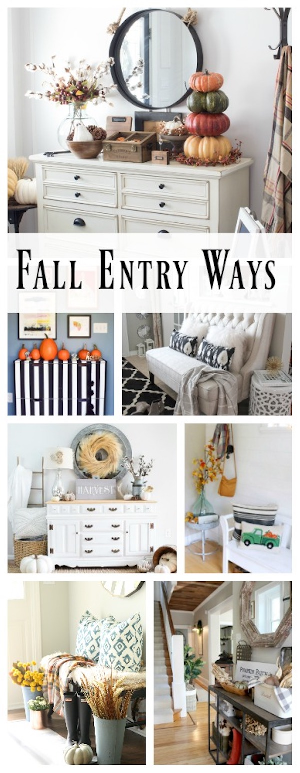 Fall Entry Way Tours - 2017 | designedsimple.com