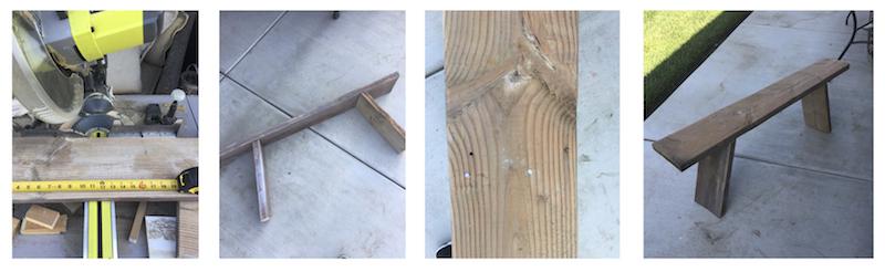 DIY Antique Bench   designedsimple.com