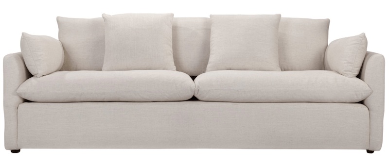 Living with a White Sofa | 8 Modern White Sofas | Designed Simple | designedsimple.com