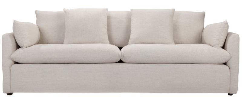 Living with a White Sofa   8 Modern White Sofas   Designed Simple   designedsimple.com