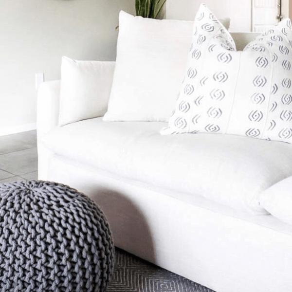 Living Room Design Board with DIY Built Ins | IKEA Billy Bookcase Hack | designedsimple.com