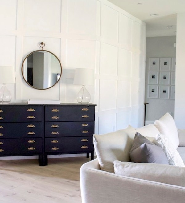 Black and Gold Dressers
