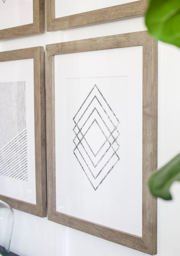 Simple Line Art from Etsy