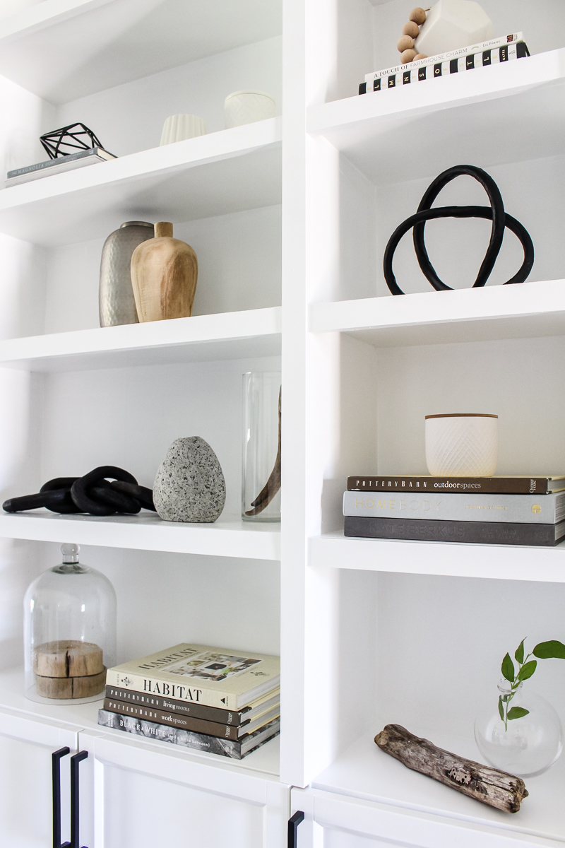 5 Tips for Shelf Styling | Remember these tips for the perfect #shelfie! | Easy Shelf Styling | Designed Simple | designedsimple.com