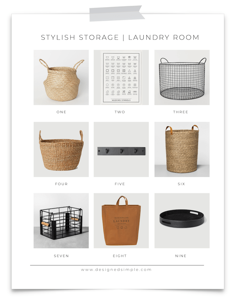 Stylish Storage and Organization for Every Room of the House! | Designed Simple | designedsimple.com