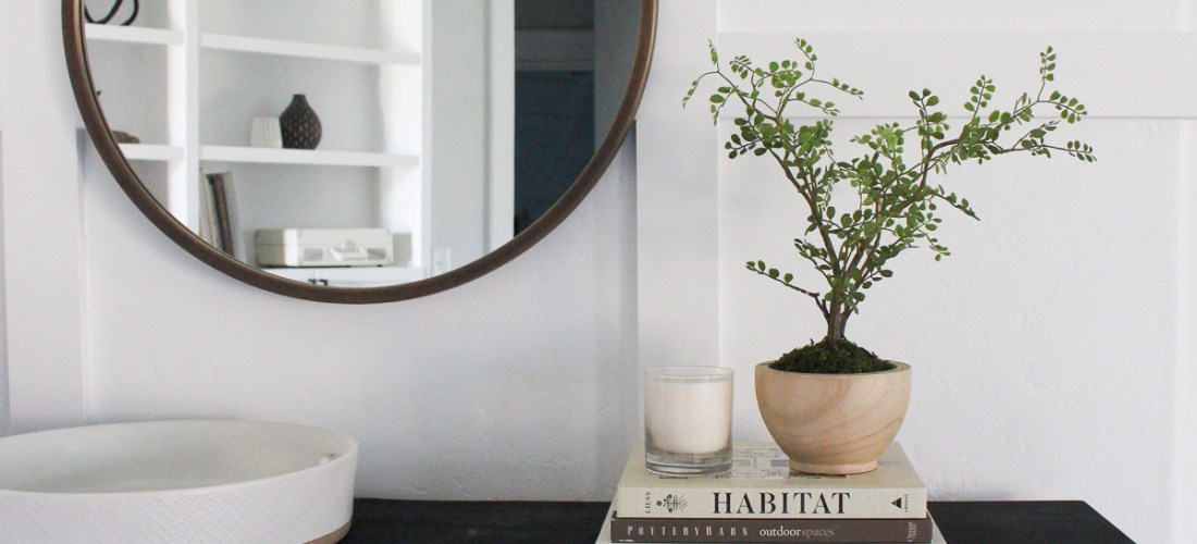 3 Ways to Style an Entry Table