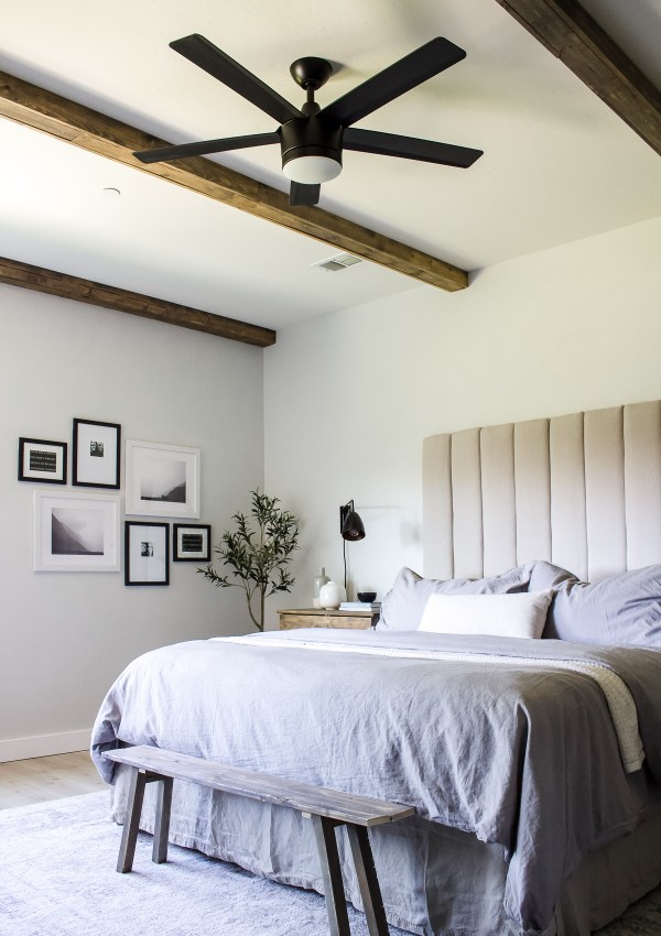 DIY Ceiling Box Beams