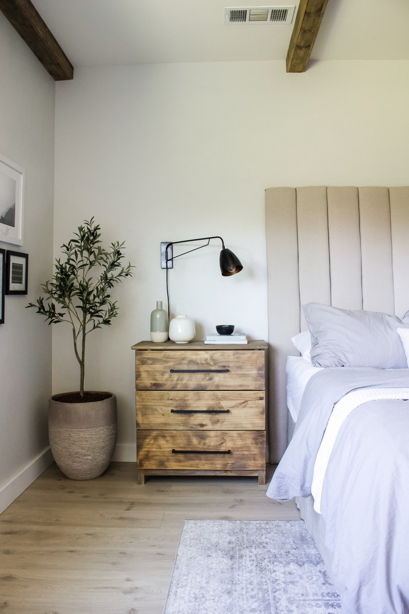 16 Wood Nightstands with Drawers & Storage | Beautiful bedside tables for any budget or decor style! | Designed Simple | designedsimple.com