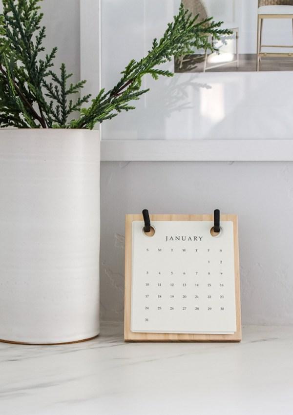 2021 Hearth & Hand Magnolia Calendar Refill