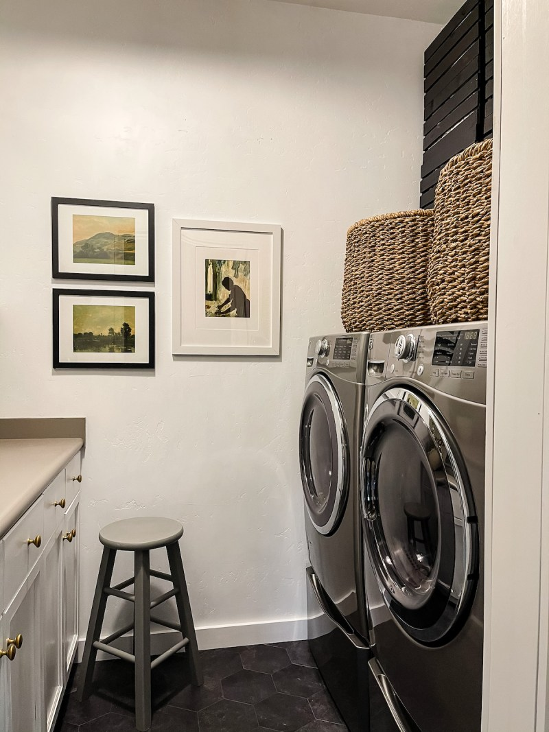Our home is limited on space, so over the years I've figured out several clever storage ideas and I'm sharing them all! | Designed Simple | designedsimple.com