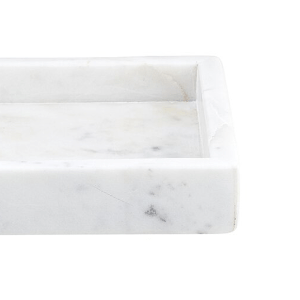 SHOP NOW - This marble tray is made of solid marble and makes a perfect vessel for soaps, bottles, and more.   Designed Simple