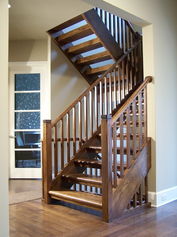 Midcentury Modern Stairs Photo Gallery Designed Stairs   Mid Century Modern Stairs   Modern Craftsman   Design   Modern Middle House   Industrial Modern   Lighting
