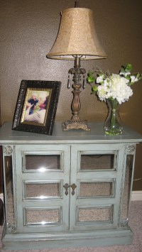 Woodworking Plans Make A Mirrored Nightstand PDF Plans