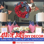 Designed To The Nines 4th Of July Decor Diy Free Or