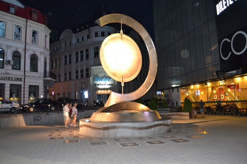 Traseu prin Bucuresti - Piata Timpului
