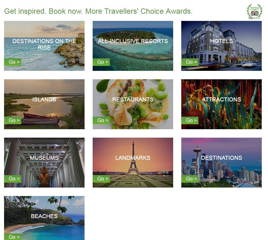 Cinci site-uri cu inspiraţie pentru călătorii - Trip Advisor Inspiration