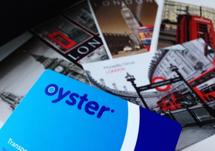 Transportul în Londra - Oyster Card