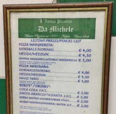 Cea mai bună pizza din lume - Da Michele în Napoli