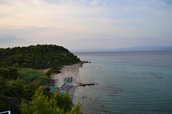 Plaje frumoase din Halkidiki - Aristoteles