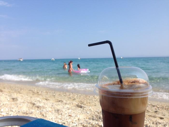 Plaje frumoase din Halkidiki - Polychrono