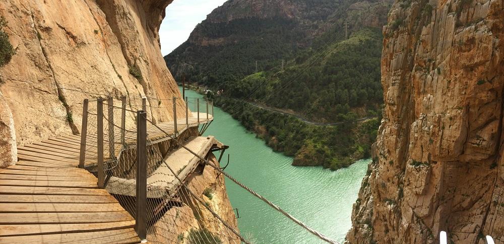 Caminito del Rey, unul dintre cele mai spectaculoase drumuri din lume