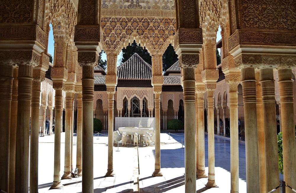 O vizită la Alhambra, Granada