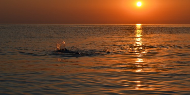 Răsărit de soare la Marble Beach, Thassos