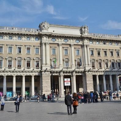 Piazza Colonna, Roma
