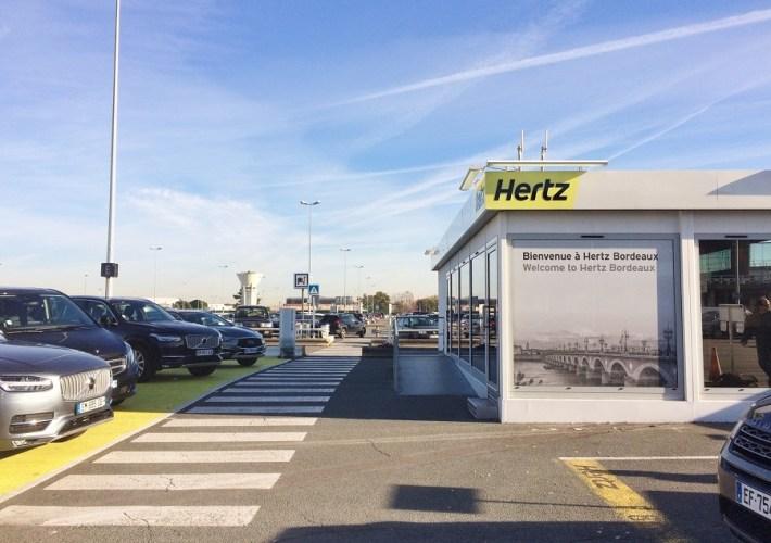 Cum am închiriat o mașină de la Hertz în Bordeaux, Franța