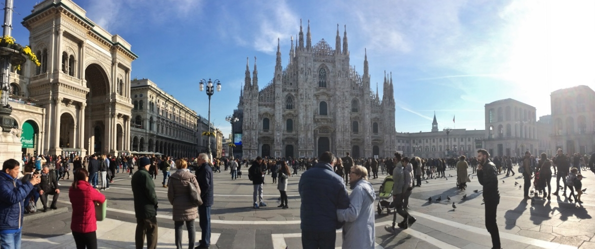 Weekend in familie - Milano