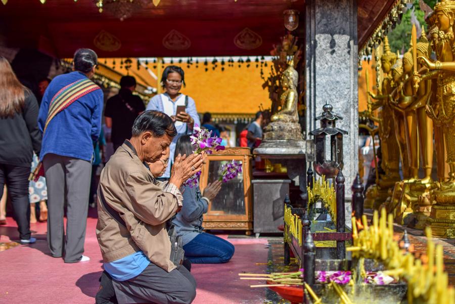 Doi Suthep - Temple din Chiang Mai