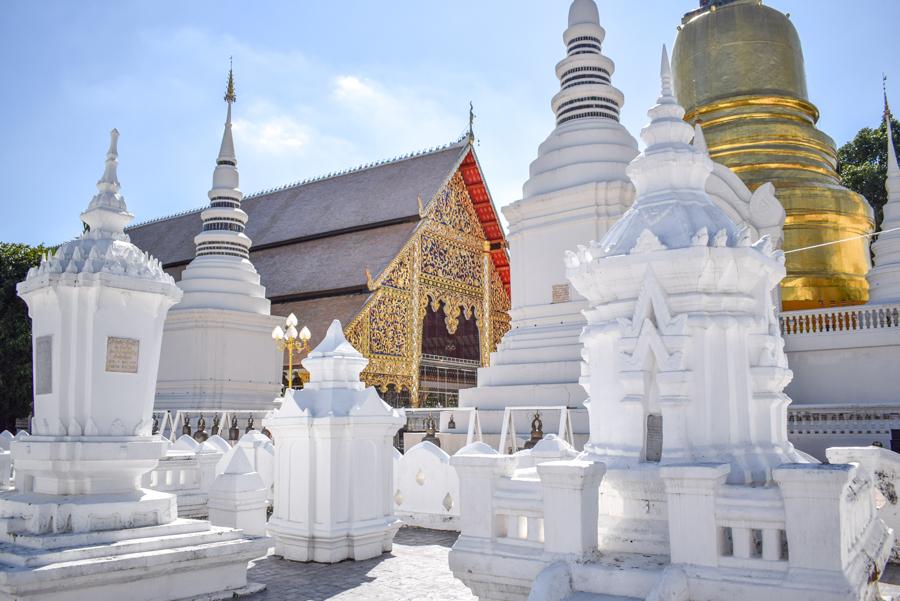 Wat Suan Dok - Temple din Chiang Mai
