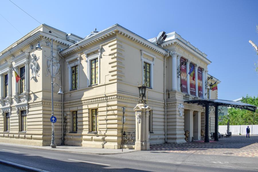 La pas pe Calea Victoriei - obiective în București - Casa Vernescu