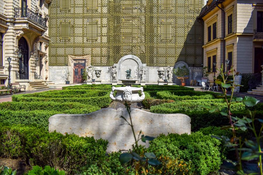 La pas pe Calea Victoriei - obiective în București - Palatul Ghica