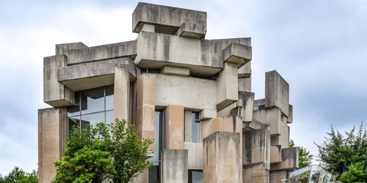 Biserica Wotruba: arhitectură brutalistă în Viena