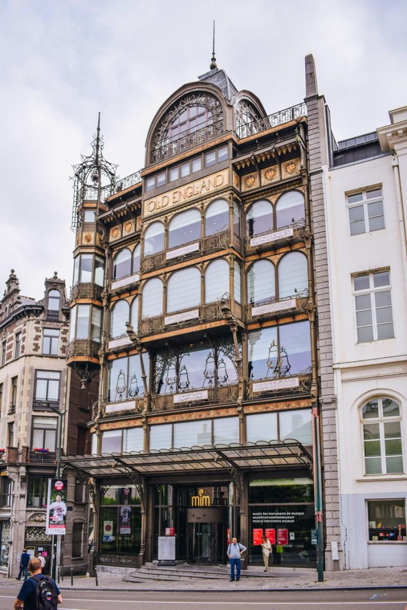Tur Art Nouveau în Bruxelles